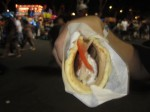 How about a giant Gyro?
